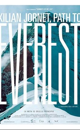 Portada de la película Kilian Jornet, Camino al Everest