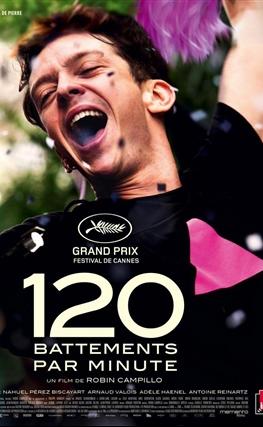 Portada de la película 120 BPM