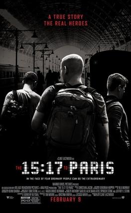 Portada de 15:17 Tren a París