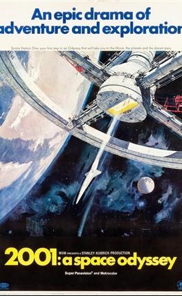 Portada de la película 2001: Una odisea del espacio