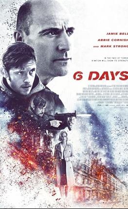Portada de la película 6 días