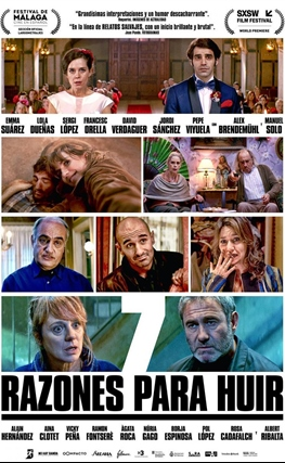 Portada de la película 7 razones para huir