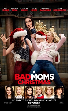 Portada de la película A Bad Moms Christmas