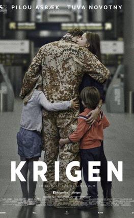 Portada de la película A War (Una guerra)