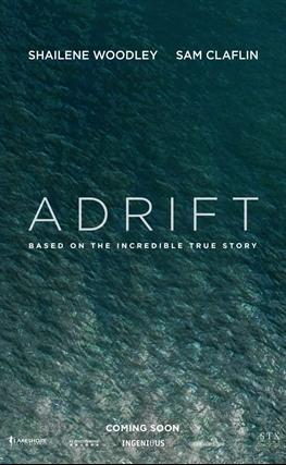 Portada de la película Adrift