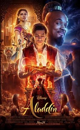 Portada de la película Aladdin