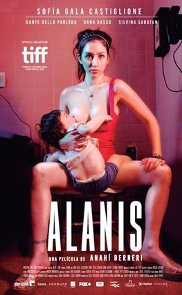 Portada de la película Alanis