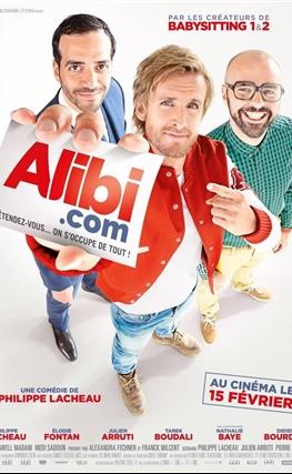 Portada de la película Alibi.com, agencia de engaños