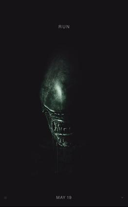 Portada de la película Alien: Covenant