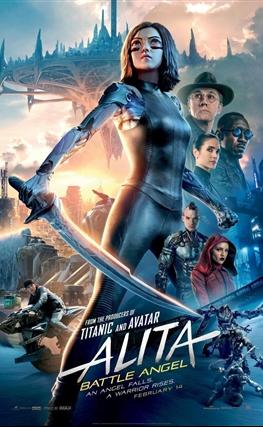 Portada de la película Alita: Ángel de combate
