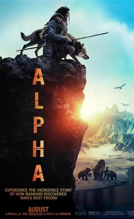 Portada de la película Alpha