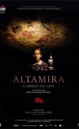 Portada de la película Altamira, el origen del arte