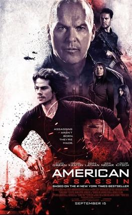 Portada de la película American Assassin