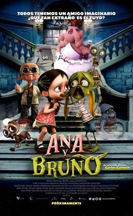 Portada de la película Ana y Bruno