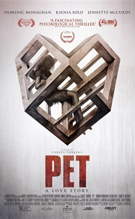 Portada de la película Animal de compañia (Pet)