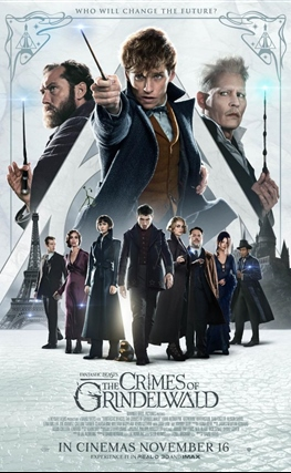 Portada de la película Animales fantásticos: Los crímenes de Grindelwald