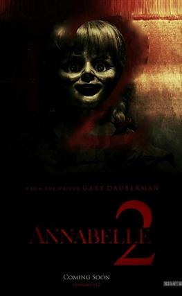 Portada de Annabelle 2