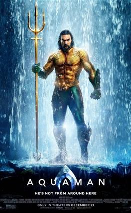 Portada de la película Aquaman