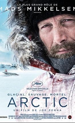 Portada de la película Ártico