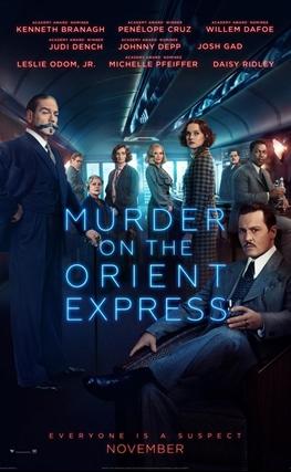Portada de la película Asesinato en el Orient Express