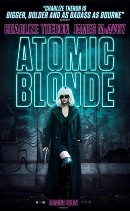 Portada de Atómica (Atomic Blonde)