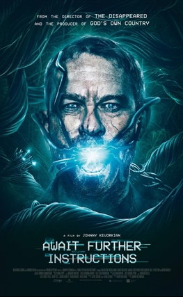 Portada de la película Await Further Instructions