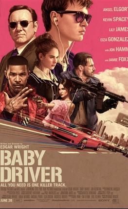 Portada de la película Baby Driver