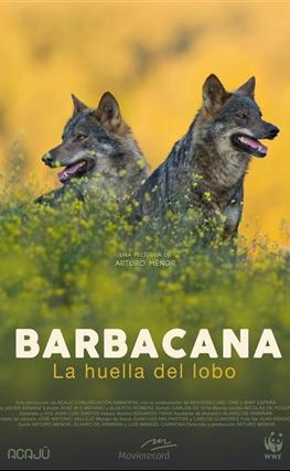 Portada de la película Barbacana, la huella del lobo