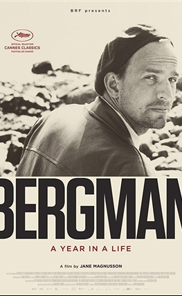 Portada de la película Bergman, su gran año