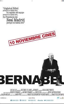 Portada de la película Bernabéu