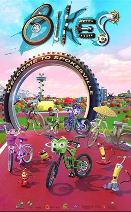 Portada de la película Bikes