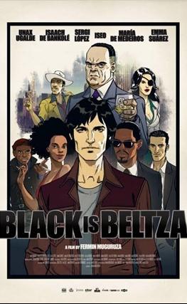Portada de la película Black is Beltza