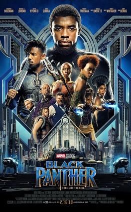 Portada de la película Black Panther