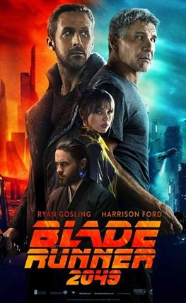 Portada de la película Blade Runner 2049