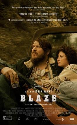 Portada de la película Blaze