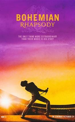 Portada de la película Bohemian Rhapsody