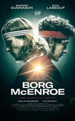 Portada de Borg McEnroe. La película