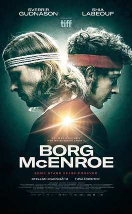 Portada de la película Borg vs. McEnroe