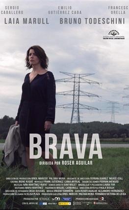 Portada de la película Brava