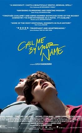 Portada de la película Call Me by Your Name