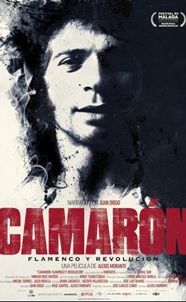Portada de la película Camarón: flamenco y revolución