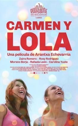 Portada de la película Carmen y Lola