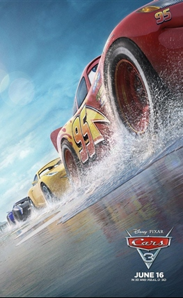Portada de la película Cars 3