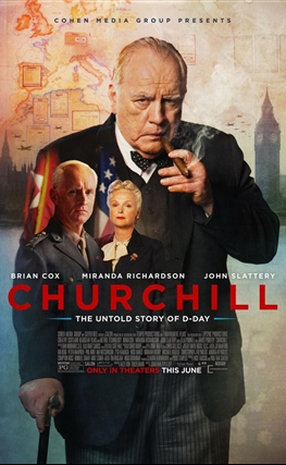 Portada de la película Churchill