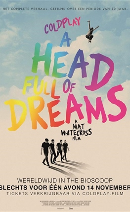 Portada de Coldplay: A Head Full of Dreams