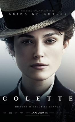 Portada de la película Colette