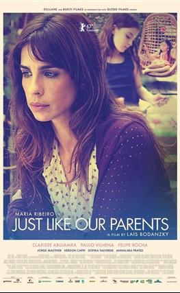Portada de la película Como nuestros padres