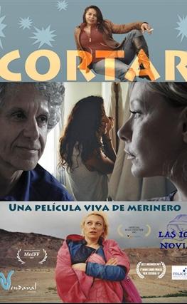 Portada de la película Cortar (Las 1001 novias)