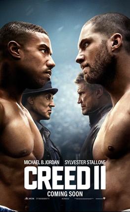 Portada de la película Creed II: La leyenda de Rocky