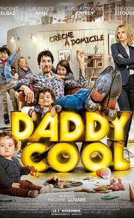 Portada de la película Daddy Cool